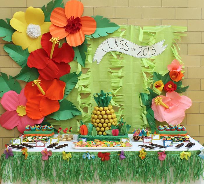 decoracao festa luau:um-doce-dia-luau-aloha-08
